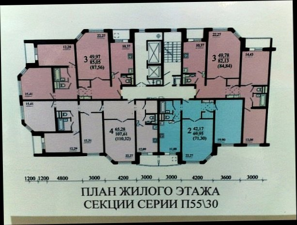 Серия дома п-55м, серия дома п-30м russianrealty.