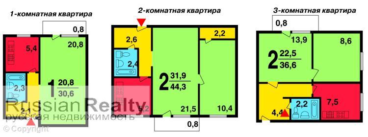 Серия дома ii-18-01/08 б, ii-18-01/09 б russianrealty.